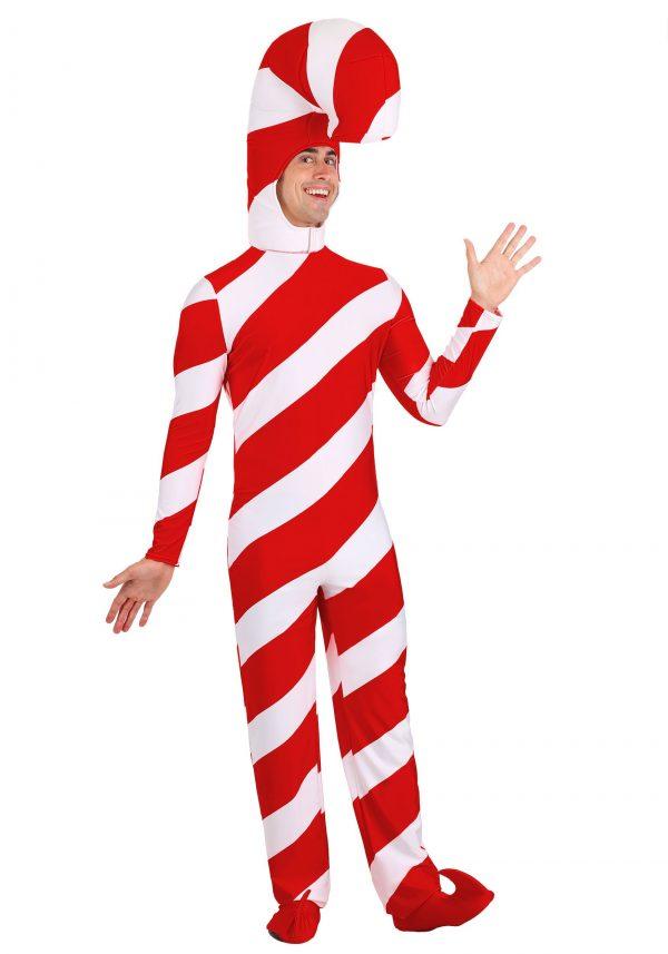 Fantasia de Natal com bastão de doces vermelhos – Red Candy Cane Christmas Costume