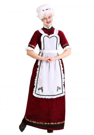 Fantasia de Natal mamãe Noel – Mrs. Claus Holiday Costume