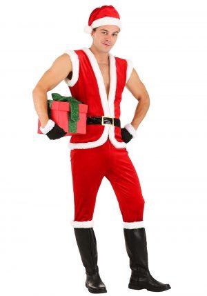 Fantasia de Papai Noel Sexy – Men's Costume Sexy Santa Claus