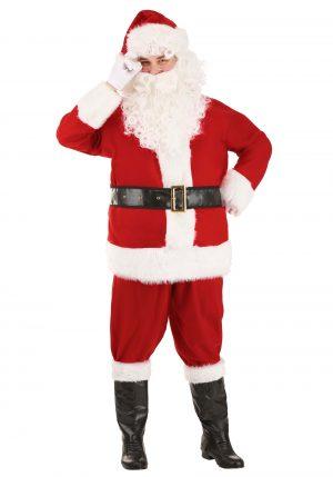 Fantasia de Papai Noel  para adultos – Holiday Santa Claus Costume for Adults