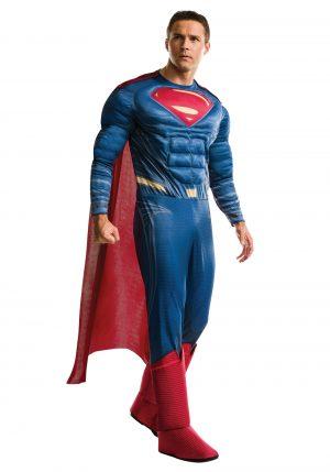 Fantasia de Superman adulto de Dawn of Justice de luxo – Deluxe Adult Dawn of Justice Superman Costume