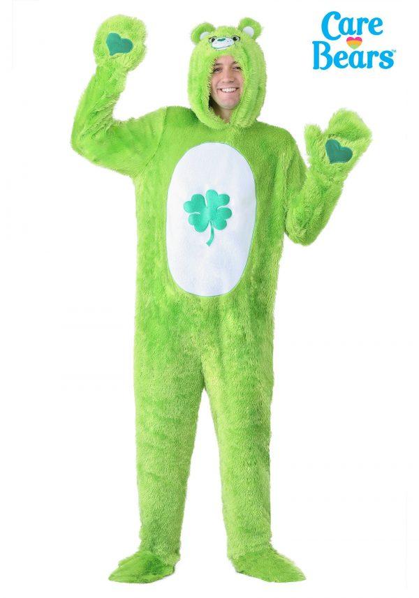 Fantasia de Ursinhos Carinhosos Adulto Boa Sorte – Care Bears Adult Classic Good Luck Bear Costume