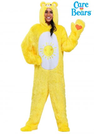 Fantasia de Ursinhos Carinhosos Adulto SOL – Care Bears Adult Classic Funshine Bear Costume