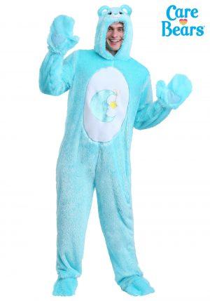 Fantasia de Ursinhos Carinhosos Bons Sonhos- Care Bears Adult Classic Bed Time Bear Costume