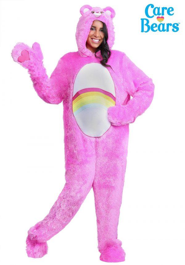 Fantasia de Urso Carinhoso Adulto Ursinha Animadinha – Care Bears Adult Classic Cheer Bear Costume