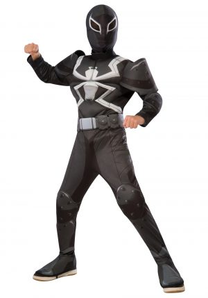 Fantasia de Venom infantil Deluxe – Child Deluxe Agent Venom Costume