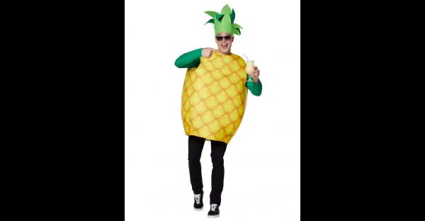 Fantasia de abacaxi adulto- Adult Pineapple Costume