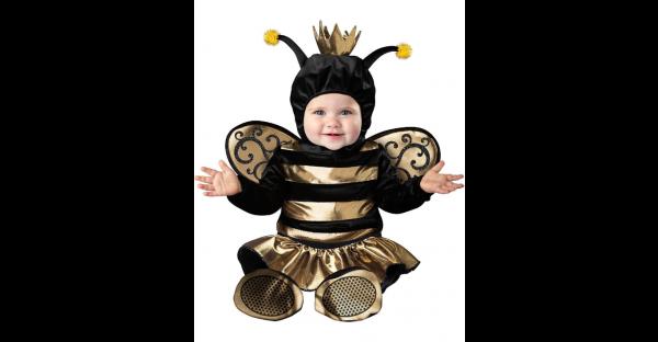 Fantasia de abelha rainha bebê – Baby Queen Bee Costume