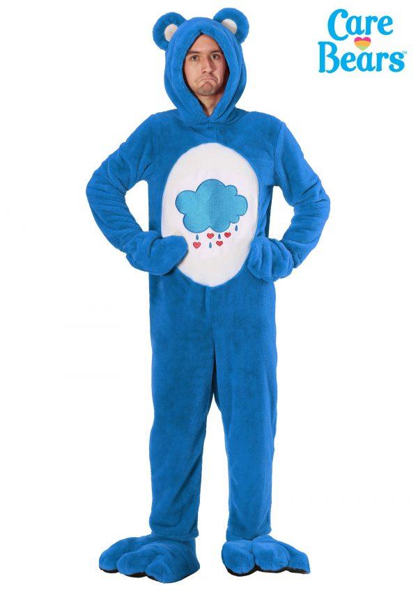 Fantasia de adulto Deluxe Ursinhos Carinhosos Zangado -Deluxe Care Bears Grumpy Bear Adult Costume