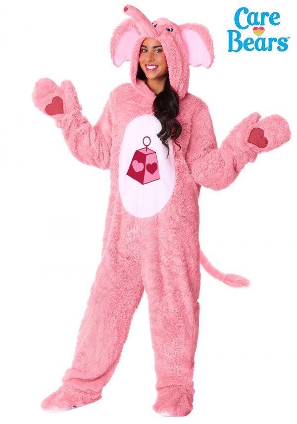 Fantasia de adulto Primo Ursinhos Carinhosos Amor Sem Fim – Lotsa Heart Elephant Care Bears Adult Costume