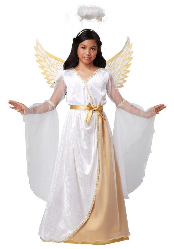 Fantasia de anjo da guarda para meninas – Girls Guardian Angel Costume