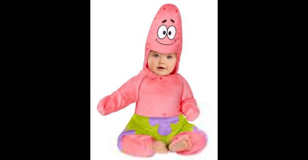 Fantasia de bebê Patrick Star -Baby Patrick Star Costume – SpongeBob SquarePants