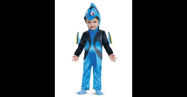 Fantasia de bebê Procurando Dory – Baby Dory One Piece Costume