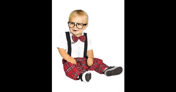 Fantasia de bebê nerd – Baby Nerd Costume