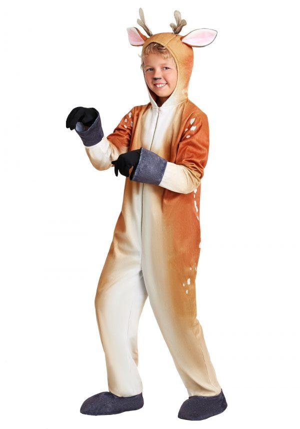 Fantasia de cervo realista para crianças – Realistic Deer Costume for Kids