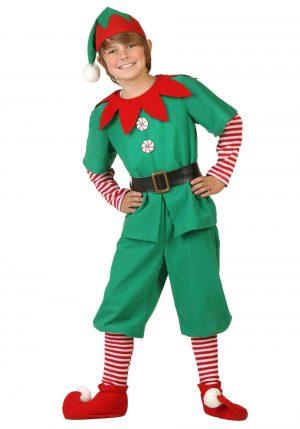 Fantasia de elfo de férias para crianças – Holiday Elf Kids Costume