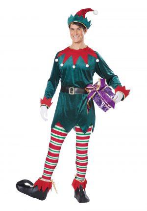 Fantasia de elfo de natal adulto – Adult Christmas Elf Costume