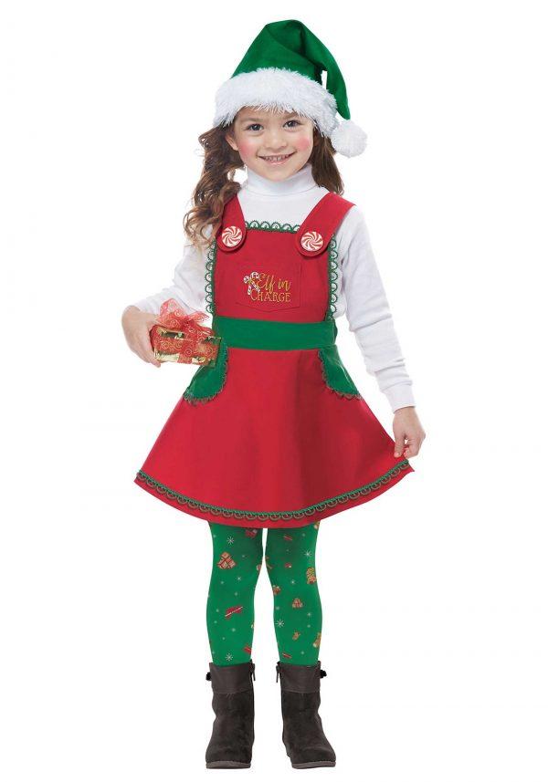 Fantasia de elfo infantil – Toddler Elf in Charge Costume
