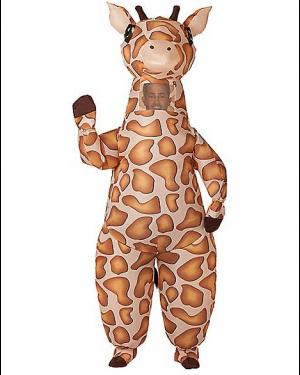 Fantasia de girafa inflável para adultos – Adult Inflatable Giraffe Costume
