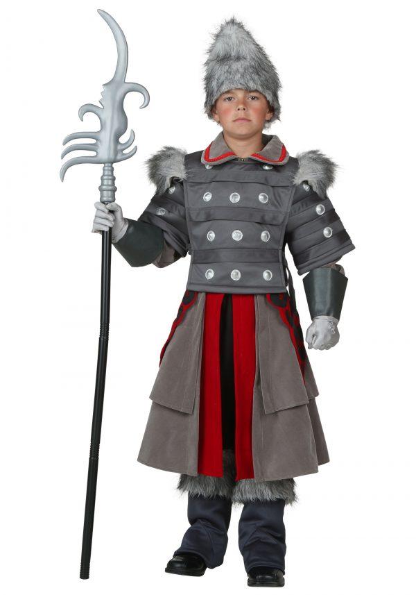 Fantasia de guarda de bruxa infantil – Kids Witch Guard Costume