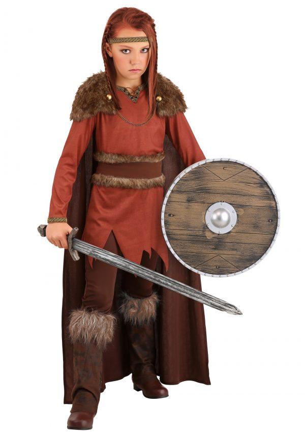 Fantasia de herói viking para meninas – Viking Hero Costume for Girls