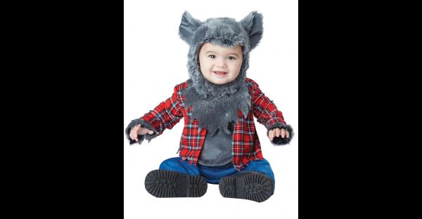 Fantasia de lobisomem bebê Wittle – Baby Wittle Werewolf Costume