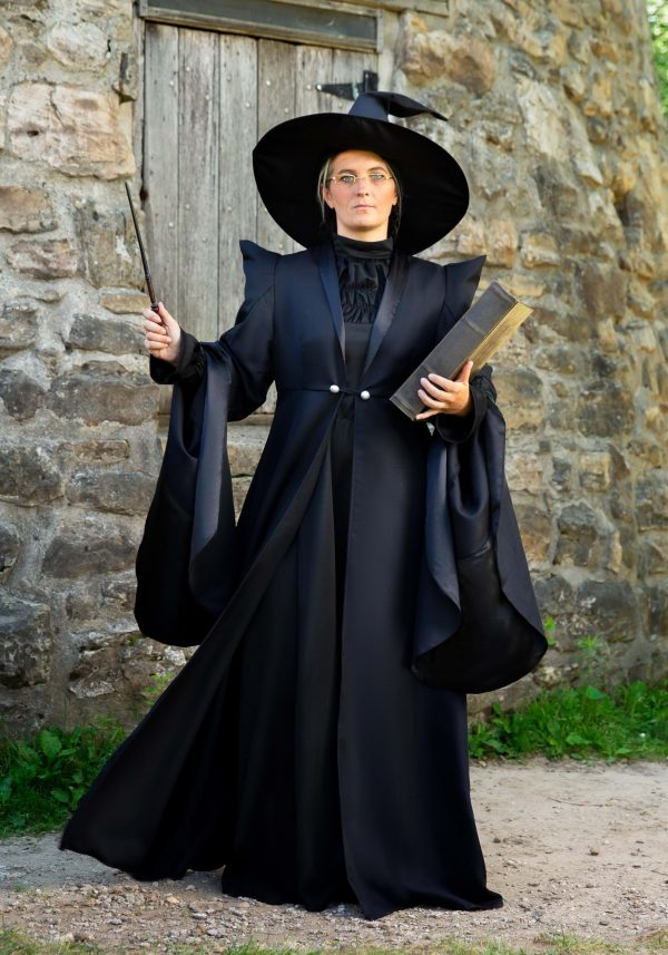 Fantasia de luxo Harry Potter McGonagall para mulheres – Deluxe Harry Potter McGonagall Costume For Women