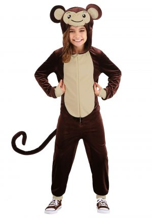 Fantasia de macaco parvo infantil – Kids Silly Monkey Costume
