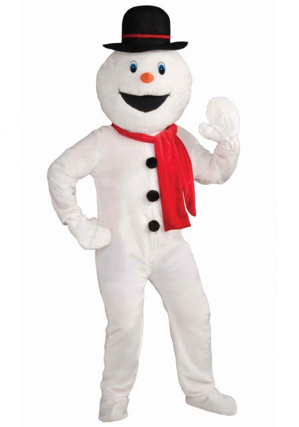 Fantasia de mascote boneco de neve – Mascot Snowman Costume