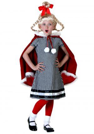 Fantasia de menina de natal- Christmas Girl Costume