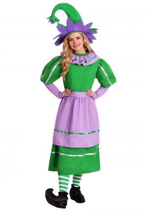 Fantasia de menina munchkin adulta – Adult Munchkin Girl Costume
