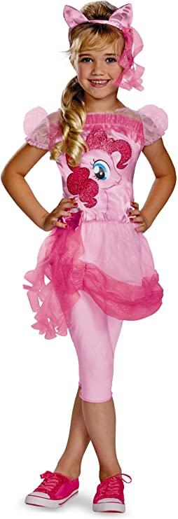 Fantasia de meninas clássicas de Pinkie Pie My Lil 'Pony Hasbro – Pinkie Pie My Lil' Pony Hasbro Classic Girls Costume