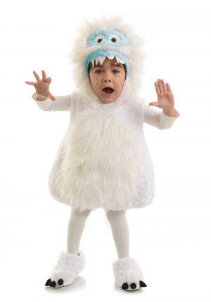 Fantasia de monstro infantil de neve – Child Snow Monster Costume