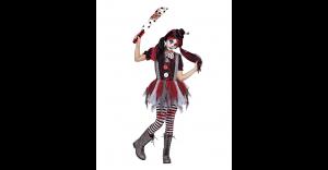 Fantasia de palhaço assassino infantil – Kids Killer Clown Costume