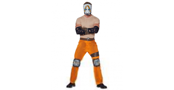 Fantasia de psicopata adulto Borderlands – Adult Psycho Bandit Costume  Borderlands