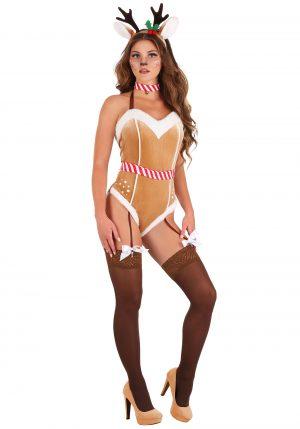 Fantasia de rena sexy feminina – Women's Sexy Reindeer Costume