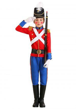 Fantasia de soldado de brinquedo para meninos-Boy's Toy Soldier Costume