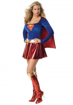 Fantasia de supergirl sexy feminina – Women's Sexy Supergirl Costume