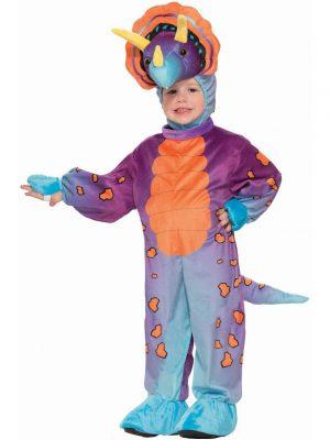 Fantasia de tricerátopo de criança – Child Spunky Triceratops Costume