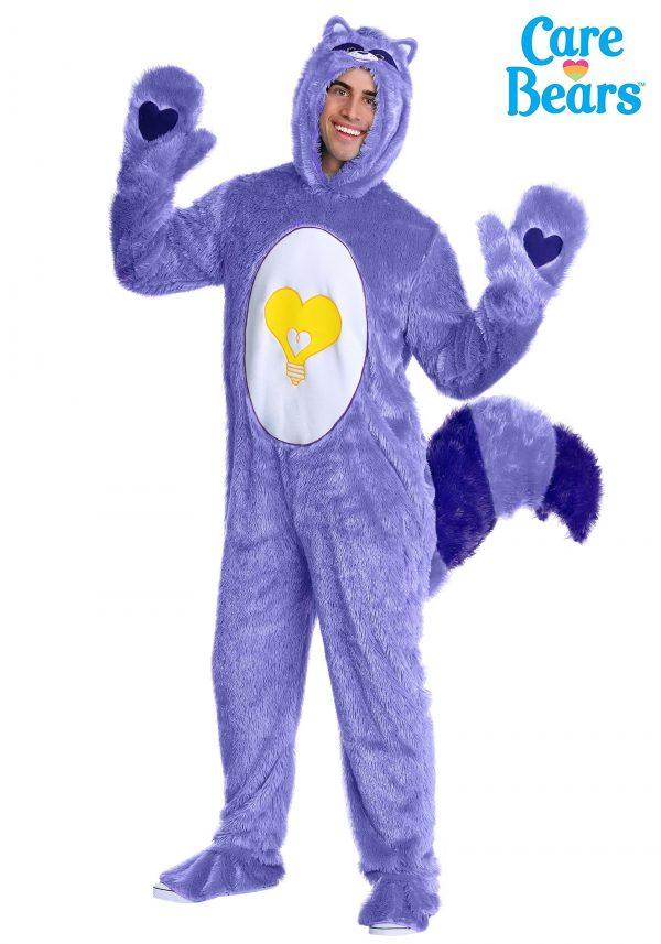Fantasia de ursinhos Carinhosos adultos de guaxinim coração brilhante – Bright Heart Raccoon Adult Care Bears Costume