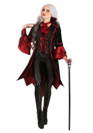 Fantasia de vampiro requintada para mulheres -Exquisite Vampire Costume for Women