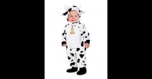 Fantasia de vaquinha bebê – Baby Cow One Piece Costume