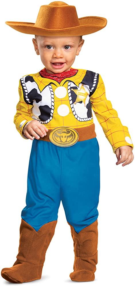 Fantasia de woody para bebês – Woody disguise costume for babies