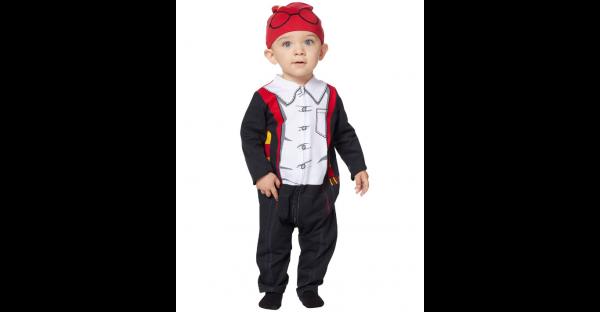 Fantasia e chapéu do macacão bebê Harry Potter – Baby Harry Potter Coveralls Costume and Hat