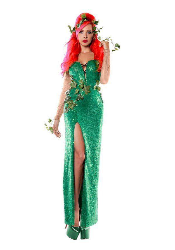 Fantasia  elegante de hera feminino – Women's Elegant Ivy Costume