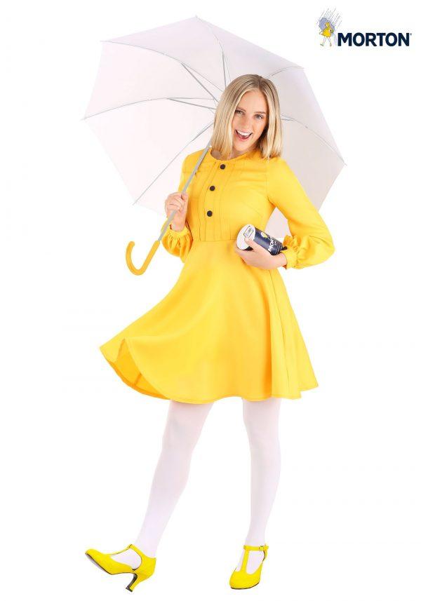 Fantasia feminina de Morton Salt Girl – Woman's Morton Salt Girl Costume