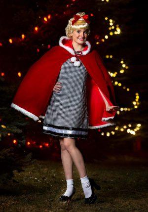 Fantasia feminina de Natal – Womens Christmas Girl Costume