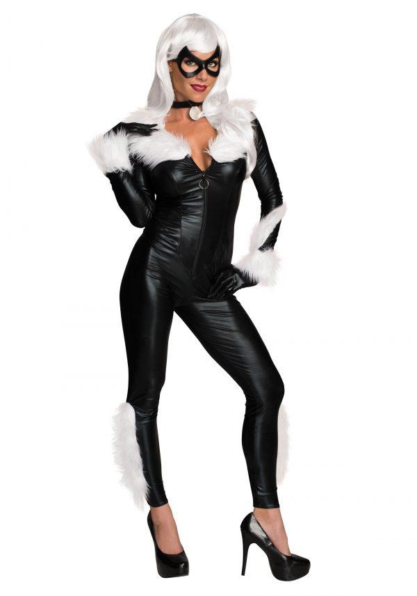 Fantasia feminina de gato preto da Marvel – Women's Marvel Black Cat Costume