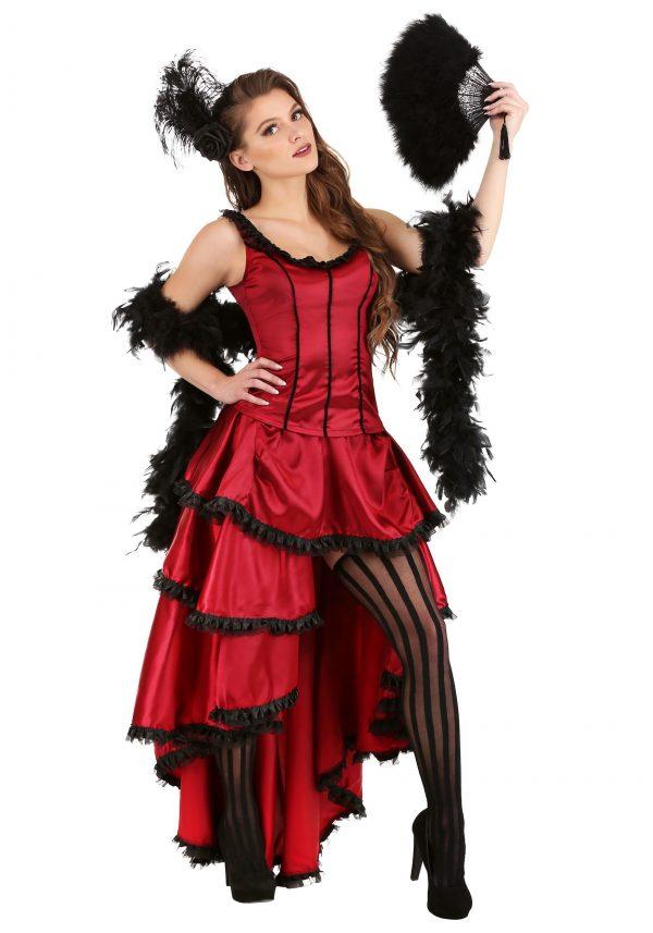 Fantasia feminina de salão sensual – Women's Sultry Saloon Girl Costume