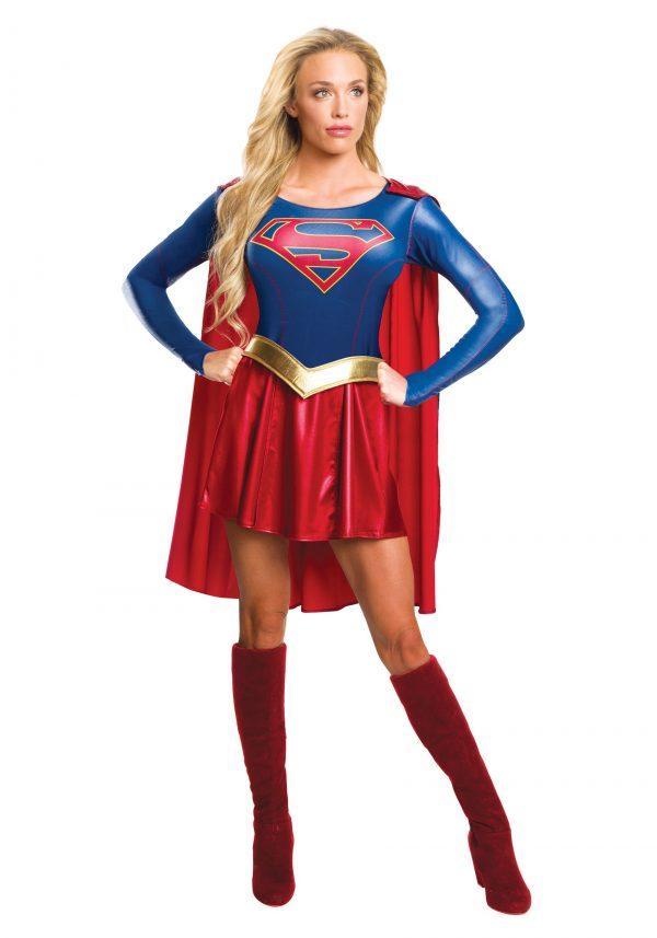 Fantasia feminina de supergirl – Women's Supergirl TV Costume